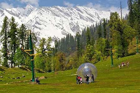 Manali honeymoon packages from Surat